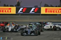 Rosberg capitalises on Hamilton's troubles for first Bahrain win