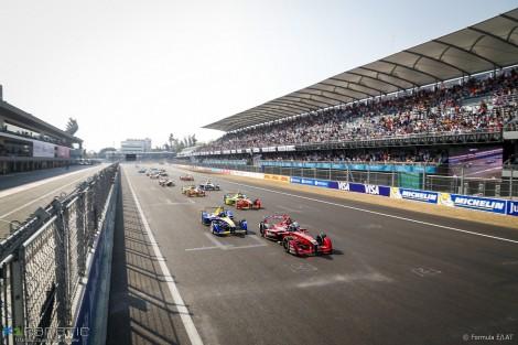Start,Formula E, Autodromo Hermanos Rodriguez, 2016