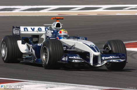 Mark Webber, Williams, Bahrain International Circuit, 2005