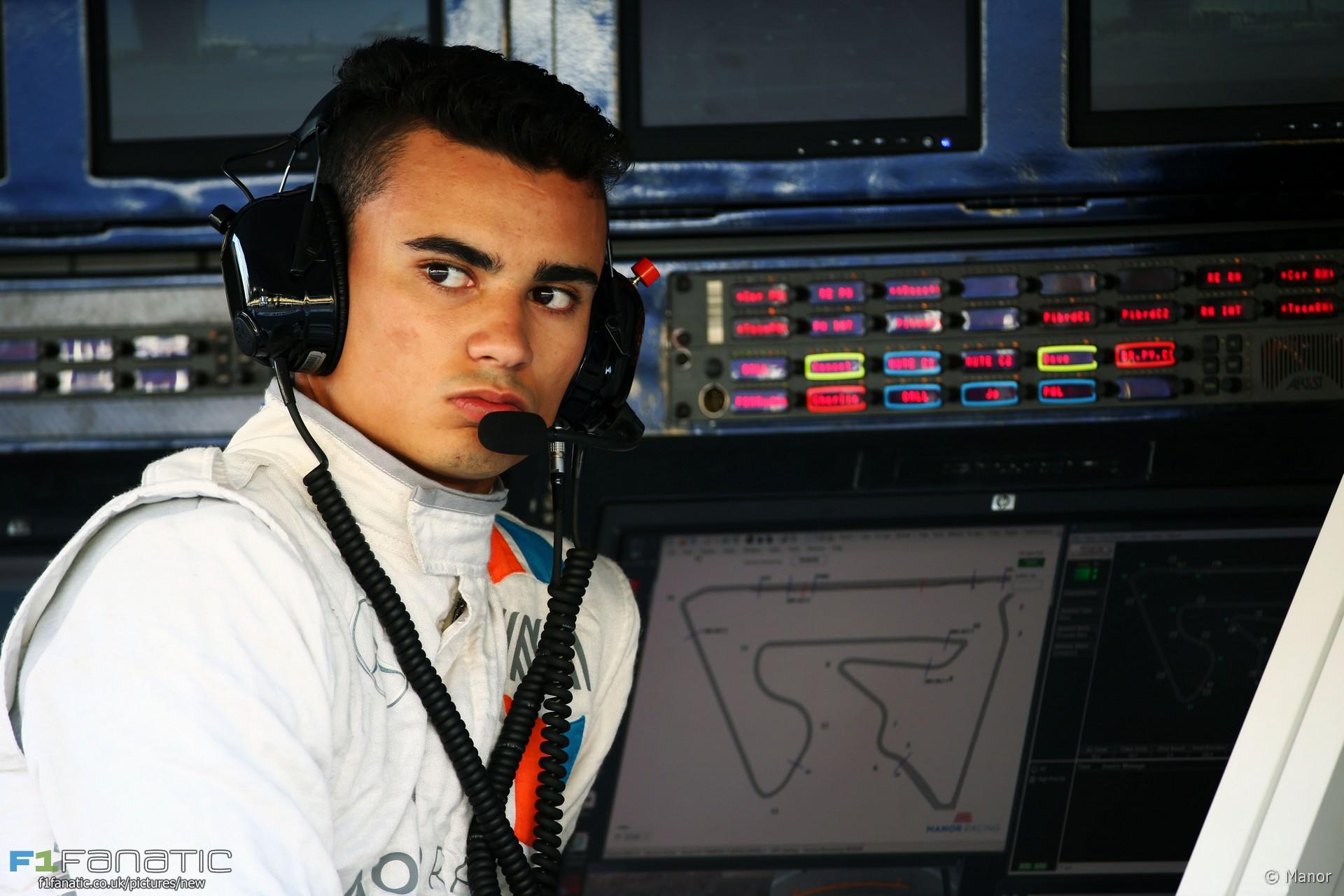 Pascal Wehrlein, Manor, Bahrain International Circuit, 2016