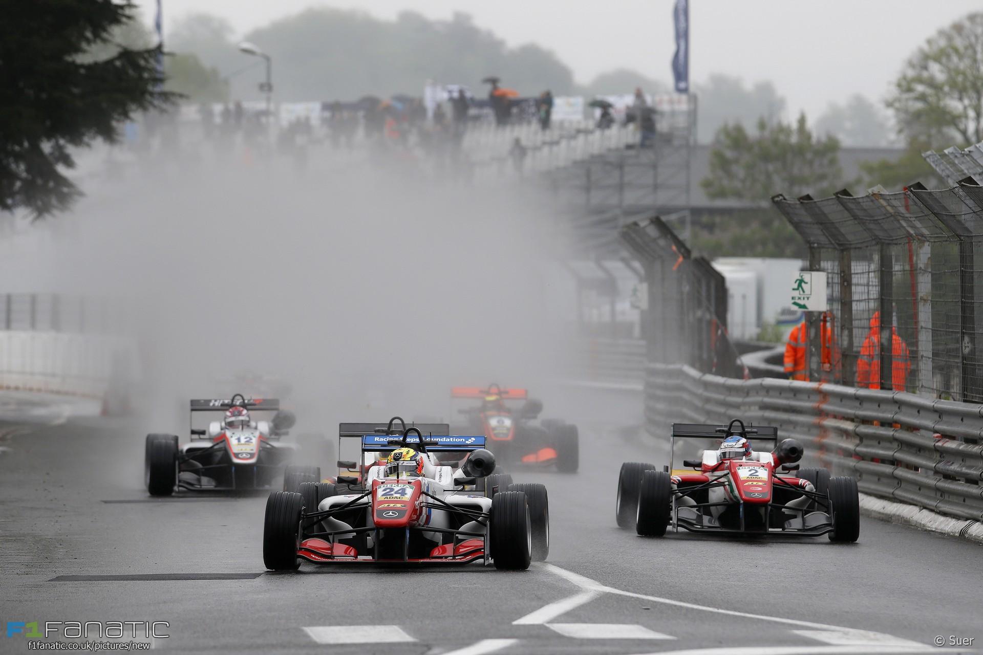 Start, European F3, Pau, 2016