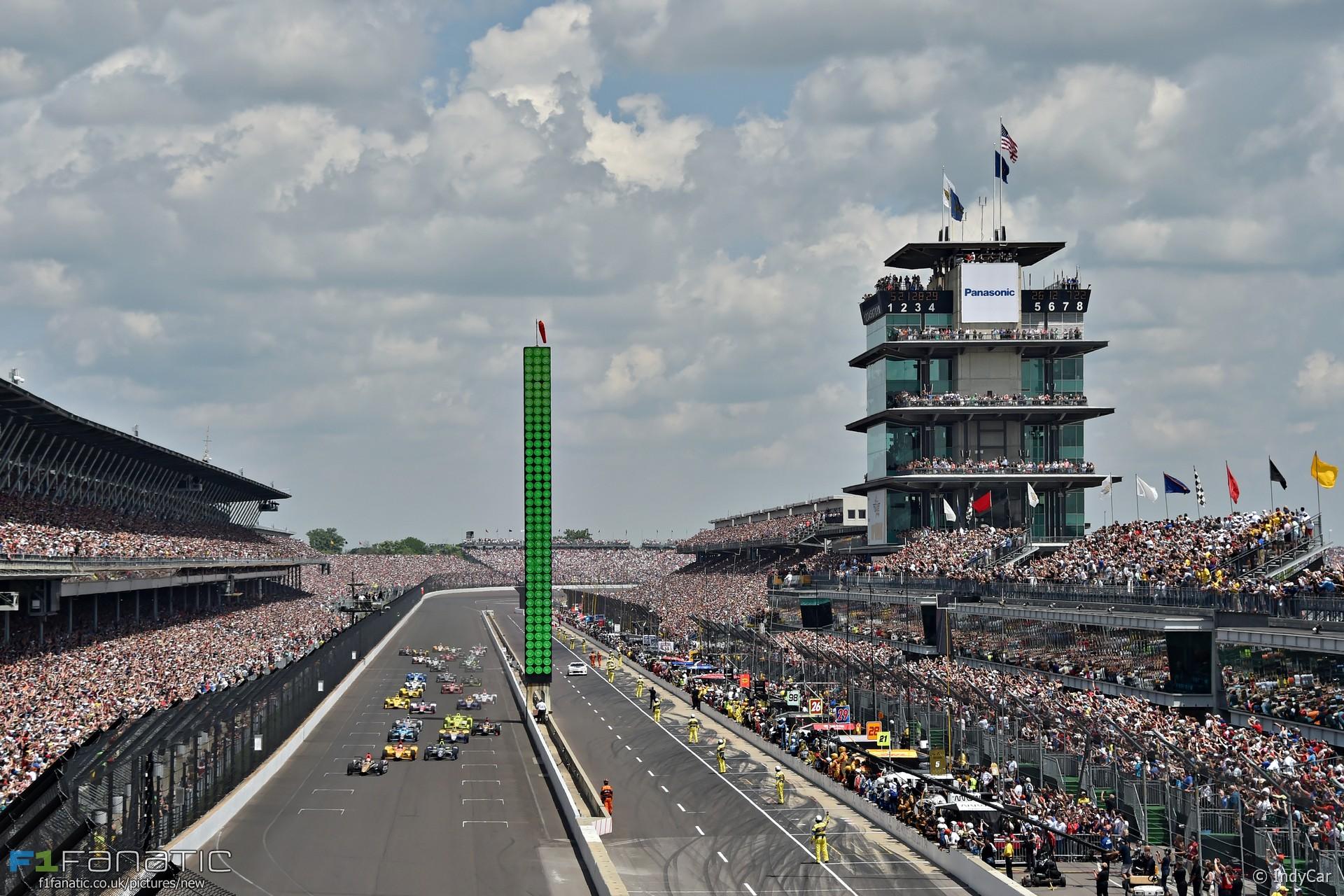 Start, Indianapolis 500, 2016