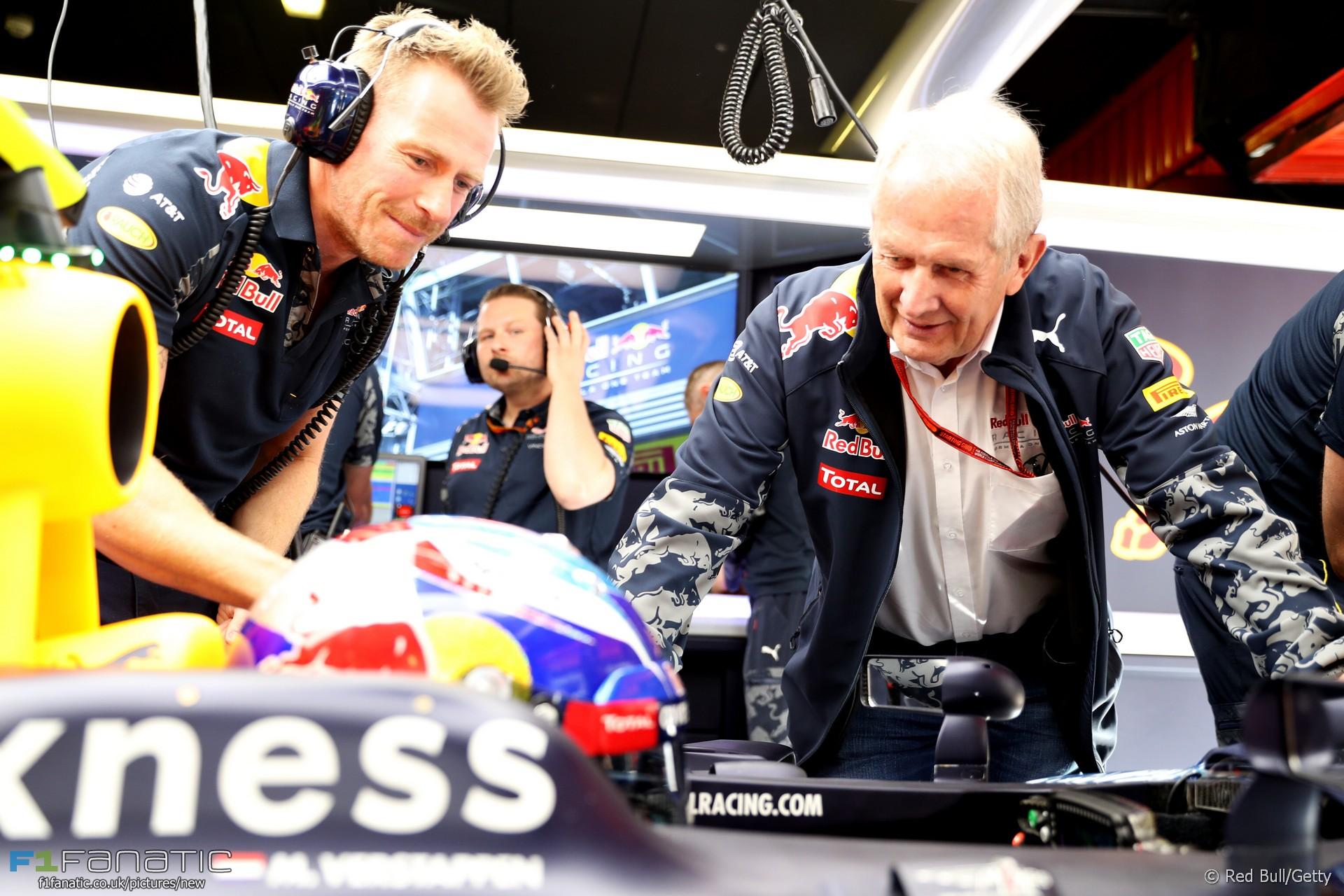 Helmut Marko, Max Verstappen, Red Bull, Circuit de Catalunya, 2016