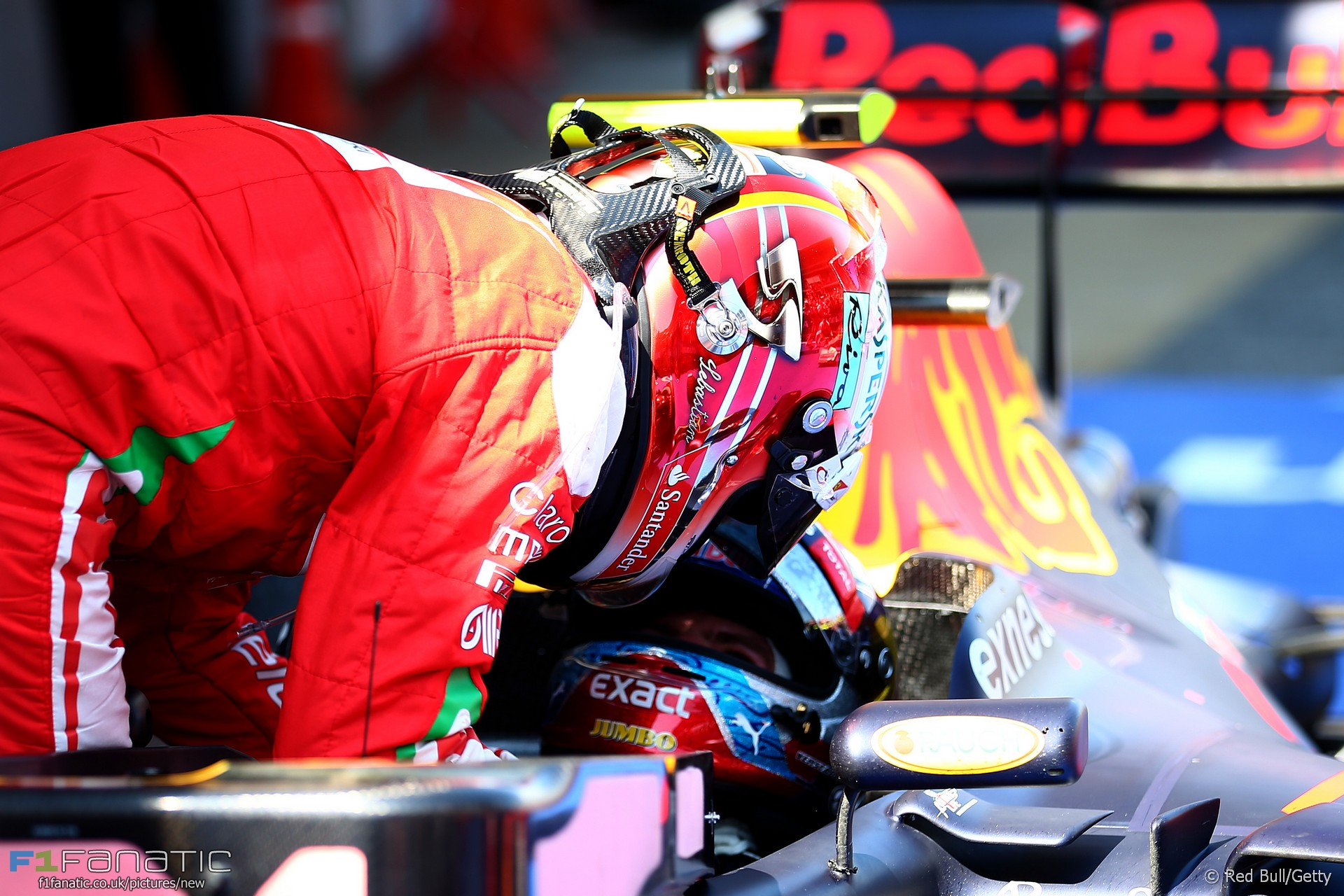Sebastian Vettel, Max Verstappen, Circuit de Catalunya, 2016