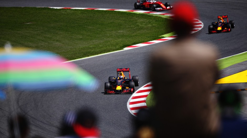Top ten pictures from the 2016 Spanish Grand Prix