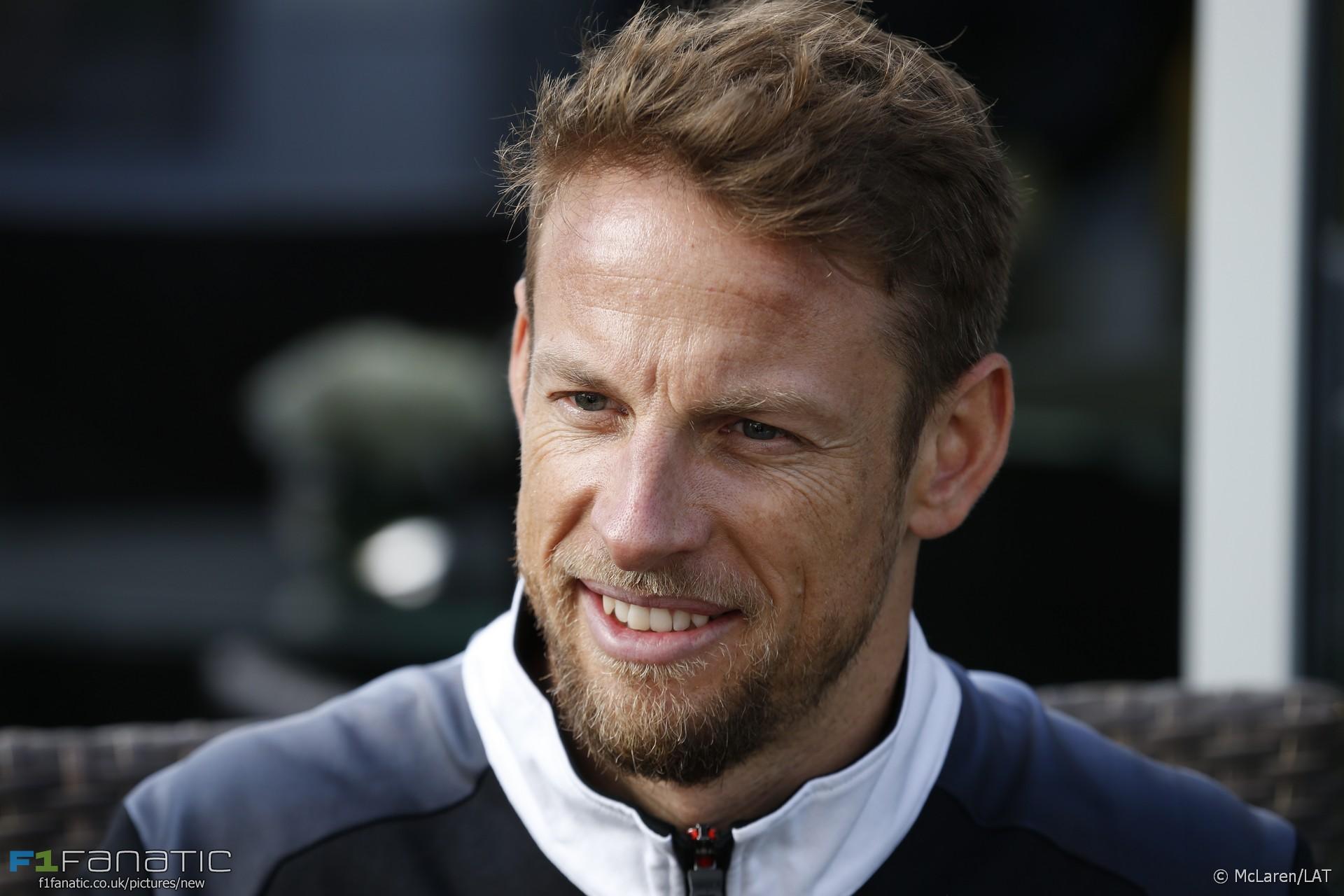 Jenson Button, McLaren, Sochi Autodrom, 2016