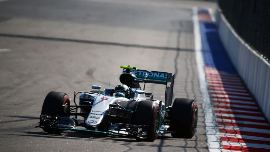 Rosberg wins again as Hamilton salvages second