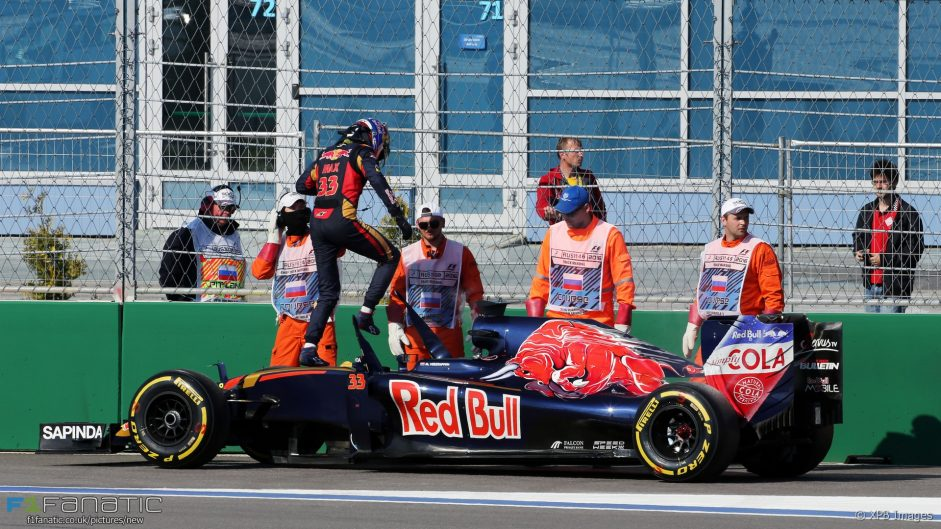 Max Verstappen, Toro Rosso, Sochi Autodrom, 2016