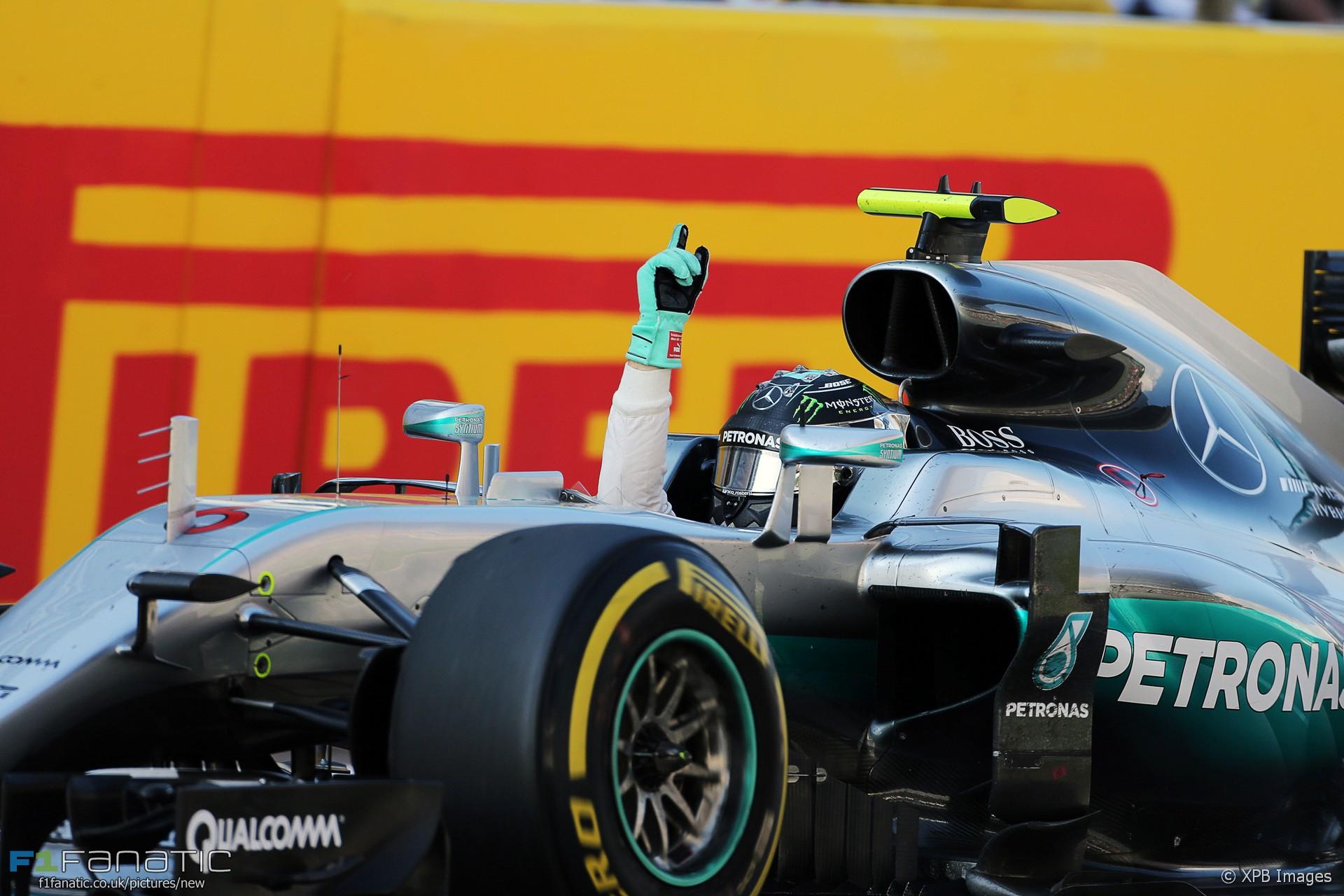 Nico Rosberg, Mercedes, Sochi Autodrom, 2016