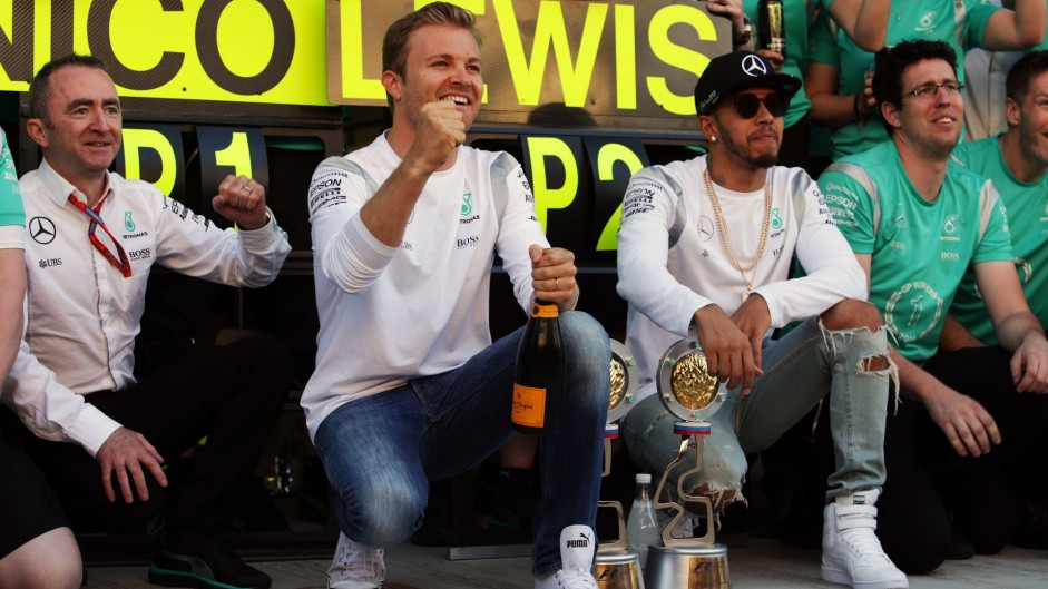 Winning means less without Hamilton threat – Rosberg