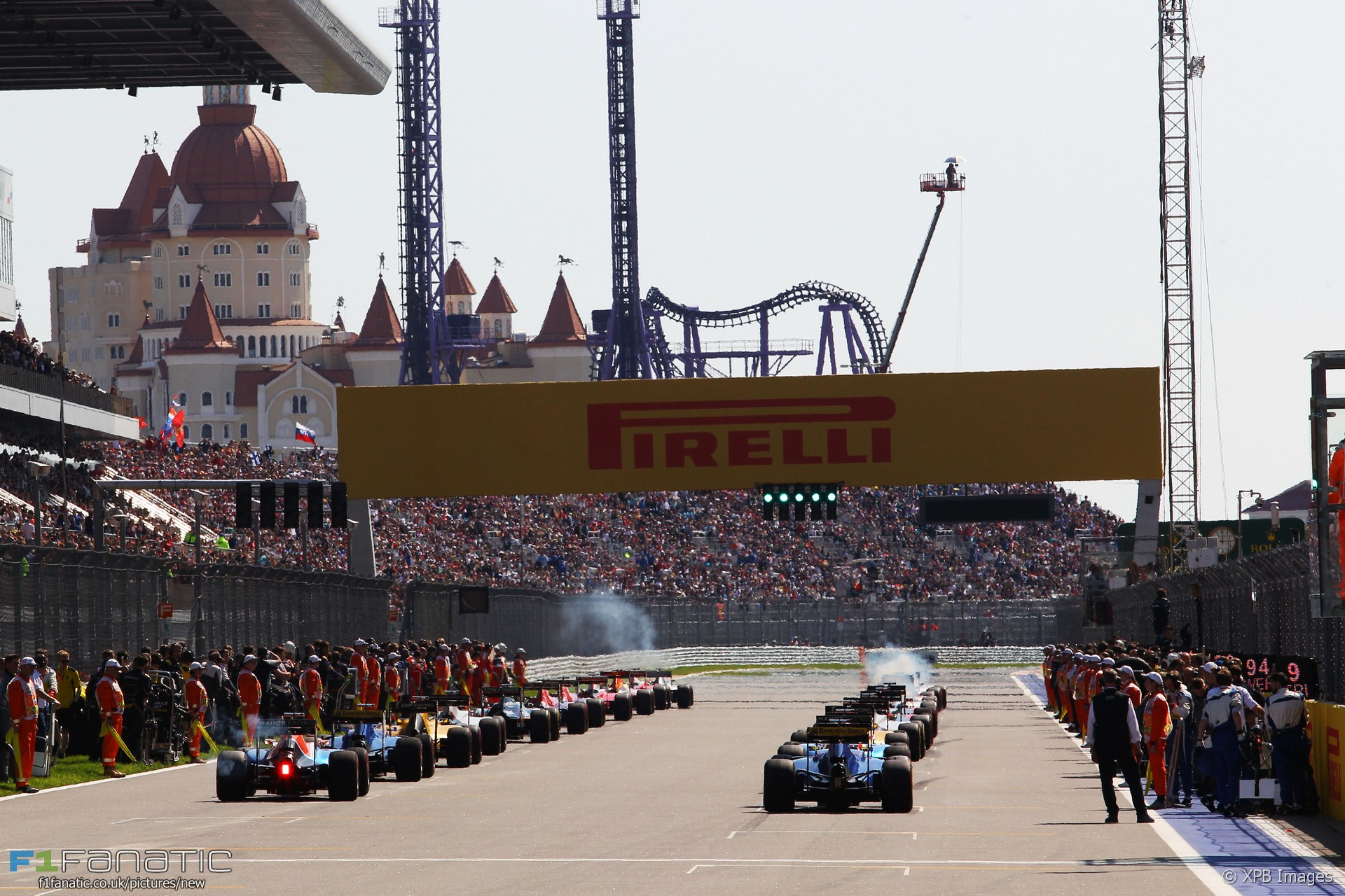 Start, Sochi Autodrom, 2016
