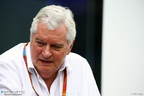 Pat Symonds, Williams, Circuit de Catalunya, 2016