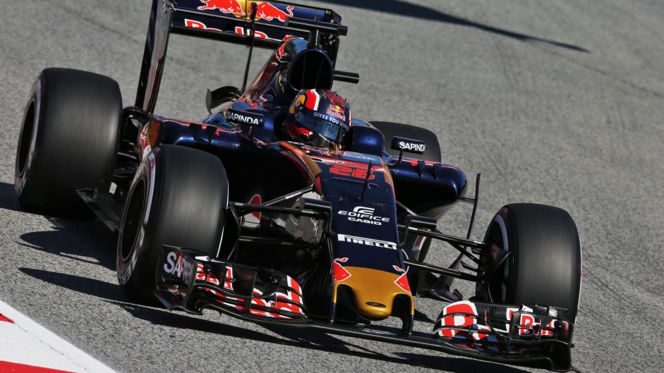 Toro Rosso showing patience after Kvyat misses Q3