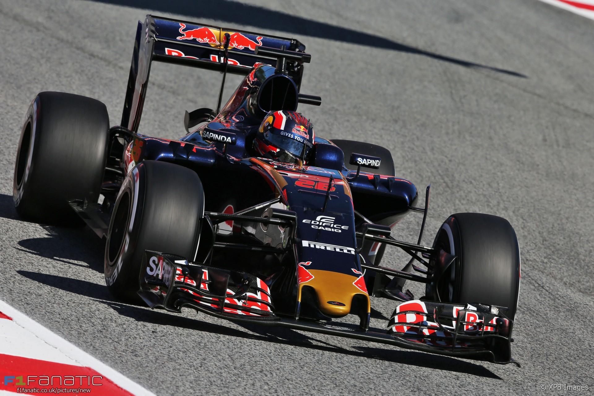 Daniil Kvyat, Toro Rosso, Circuit de Catalunya, 2016