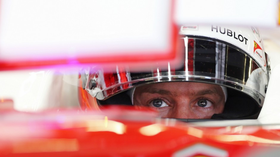 Vettel mystified by Ferrari's loss of pace