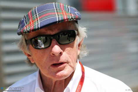 Jackie Stewart, Circuit de Catalunya, 2016