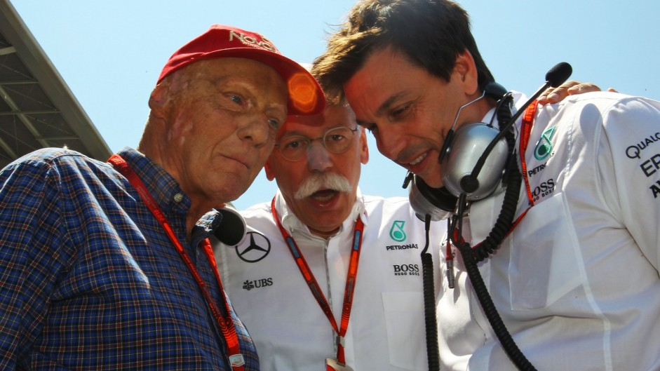 Wolff and Lauda commit to Mercedes until 2020