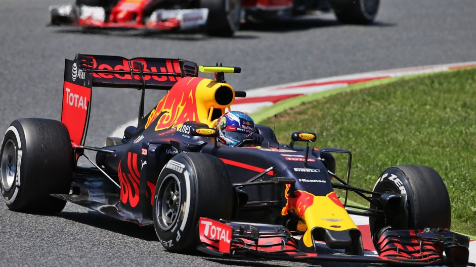 Max Verstappen becomes youngest F1 race winner on Red Bull debut