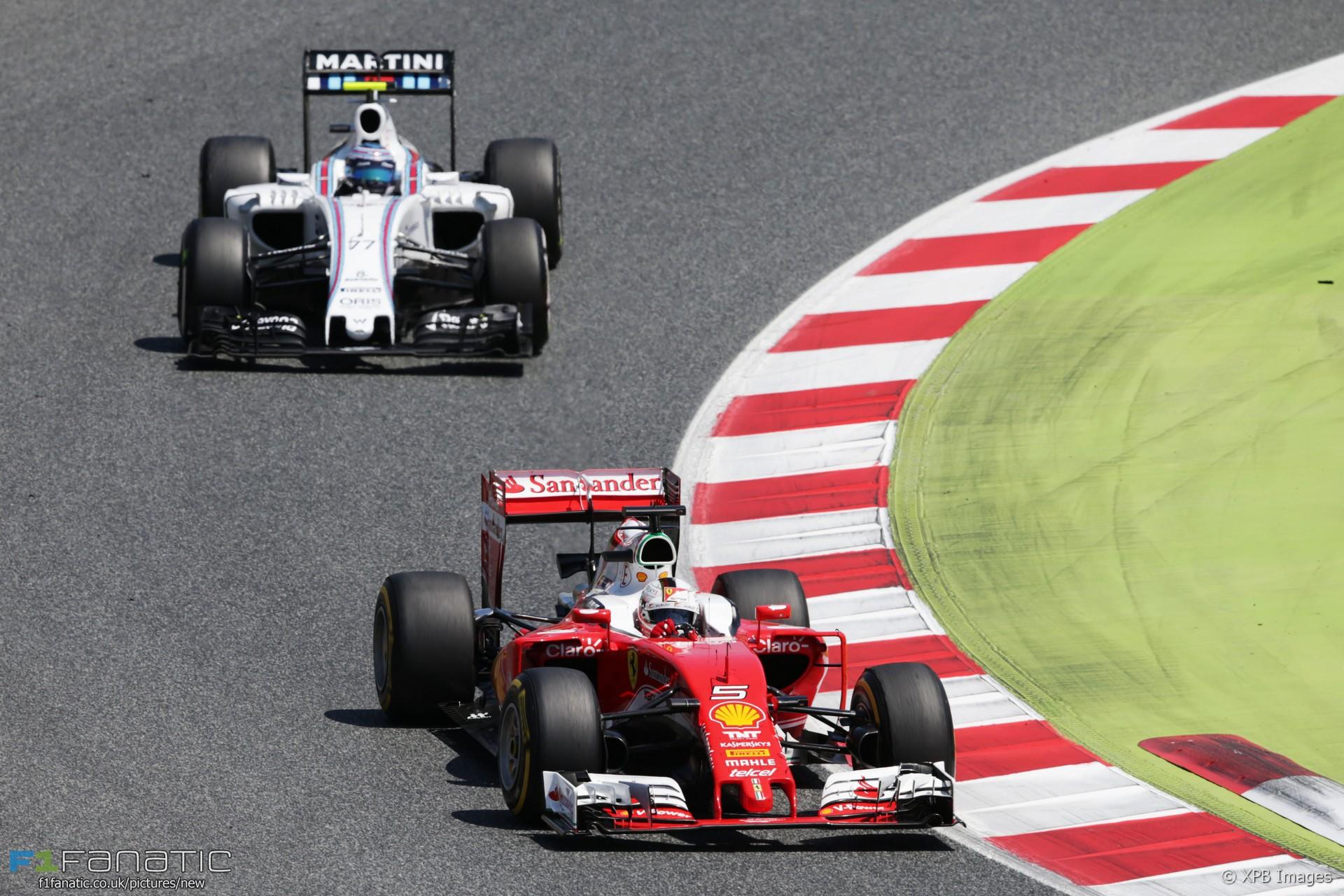Sebastian Vettel, Ferrari, Circuit de Catalunya, 2016 · RaceFans