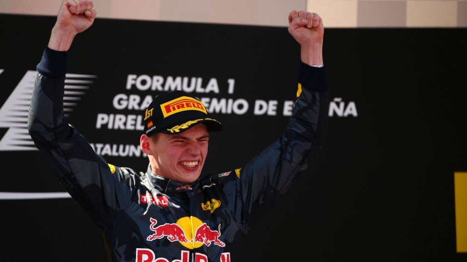Verstappen smashes youngest F1 winner record