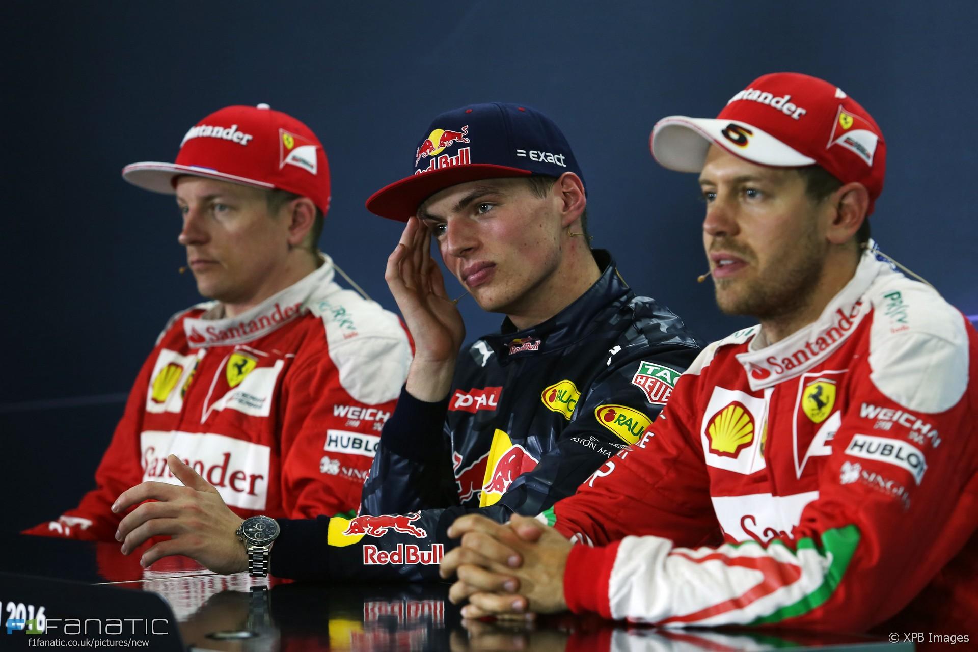 Resultado de imagen de Kimi Vettel Verstappen