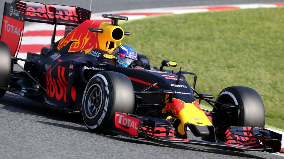 Verstappen ends Catalunya test on top