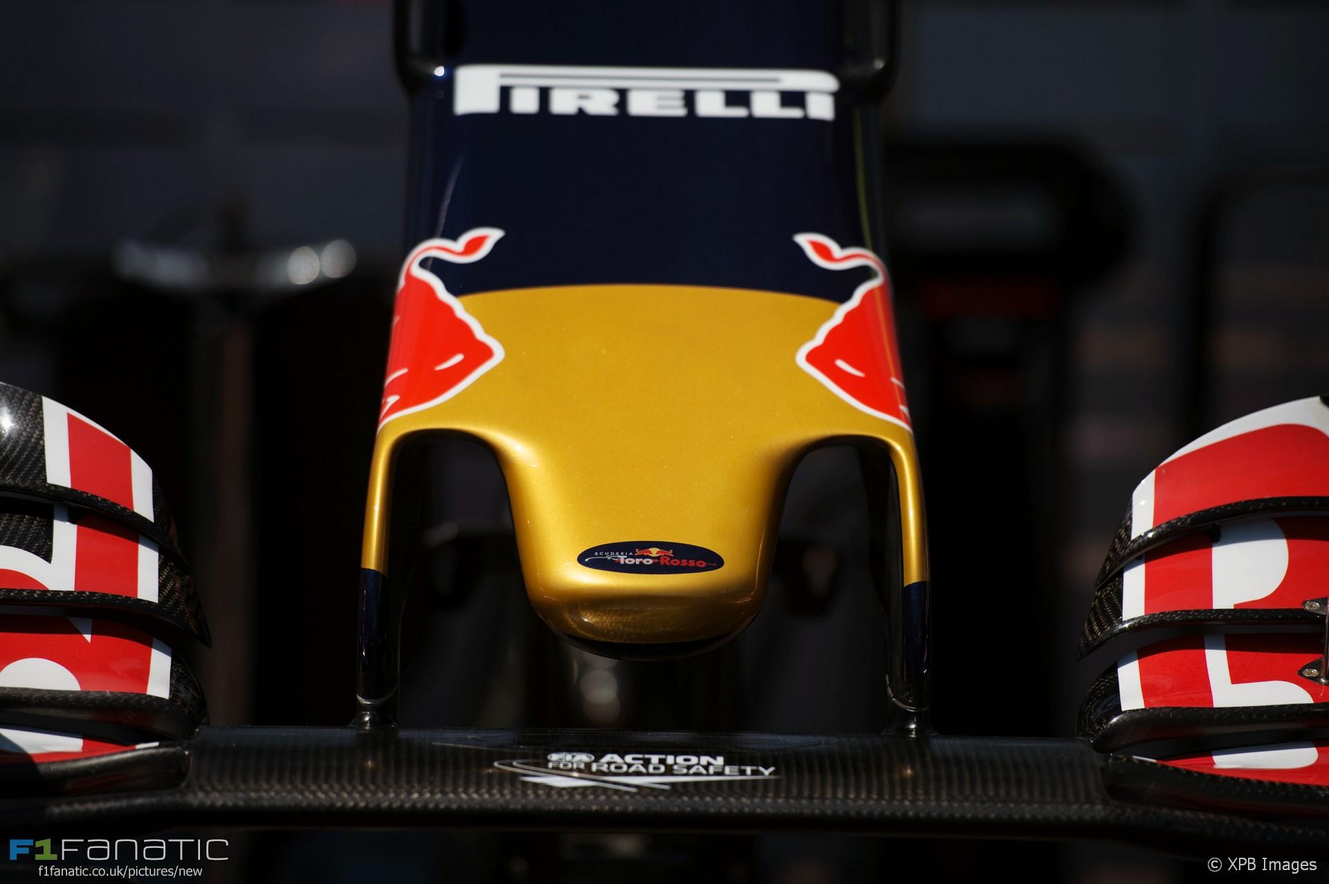 Toro Rosso STR11 nose, Monte-Carlo, Monaco, 2016