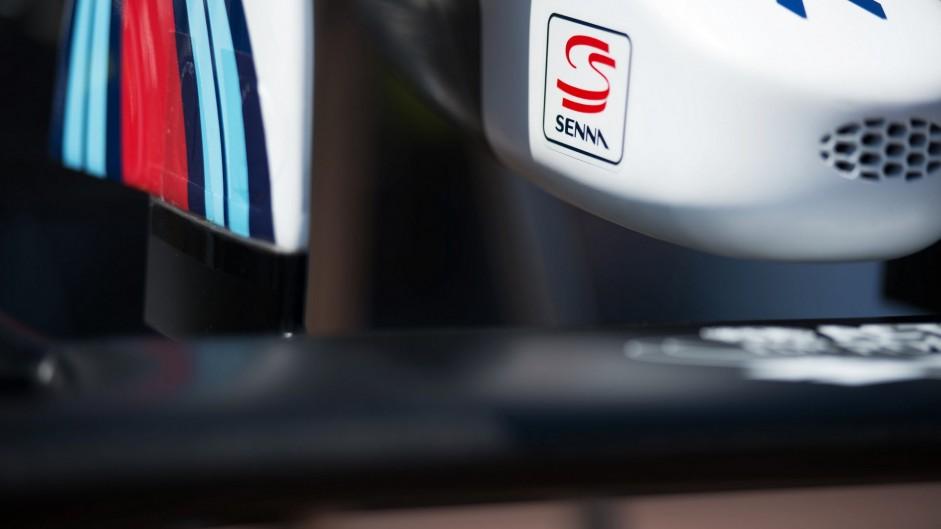 Williams FW38 front wing, Monte-Carlo, Monaco, 2016