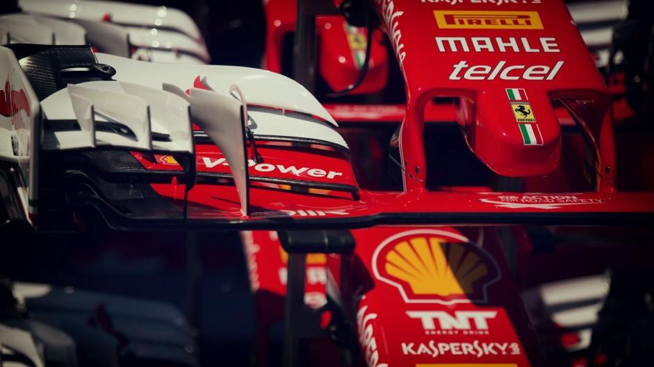 Ferrari SF16-H front wings, Monte-Carlo, Monaco, 2016