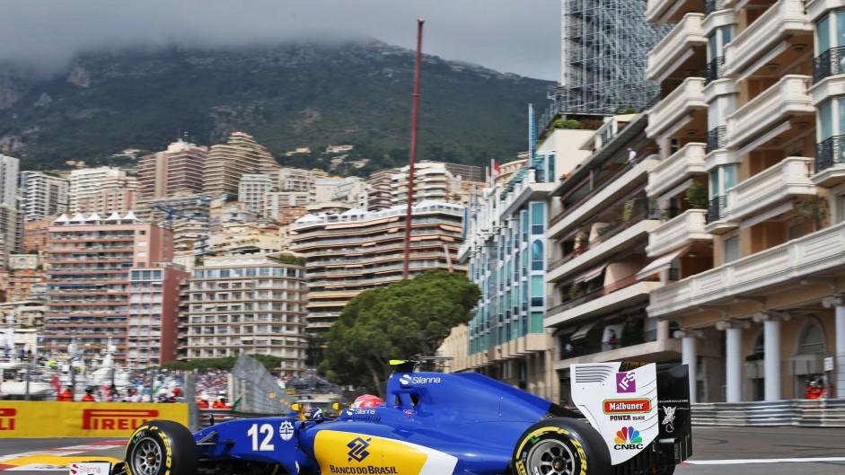 Felipe Nasr, Sauber, Monte-Carlo, 2016