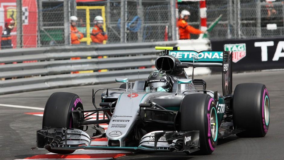 Nico Rosberg, Mercedes, Monte-Carlo, 2016
