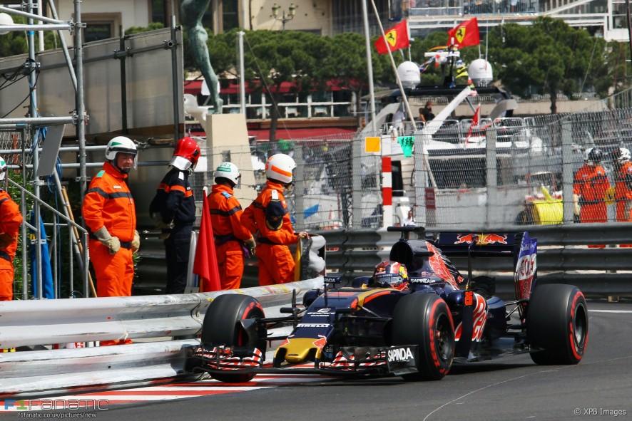 Daniil Kvyat  Toro Rosso  Monte
