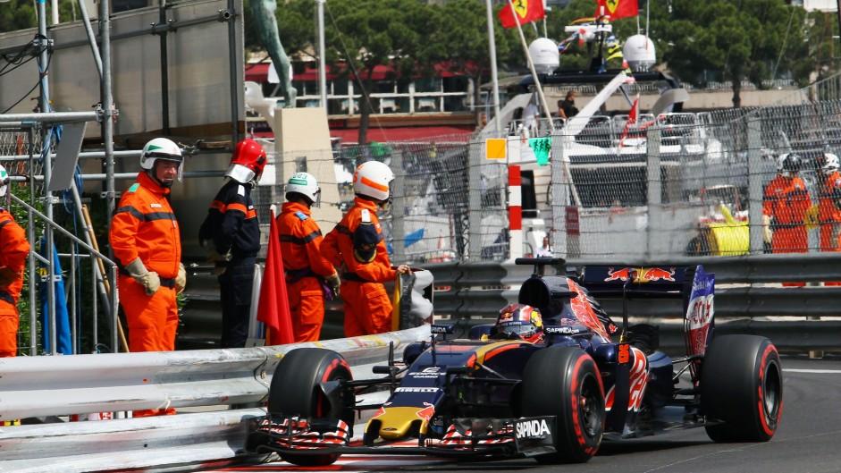 Daniil Kvyat, Toro Rosso, Monte-Carlo, 2016