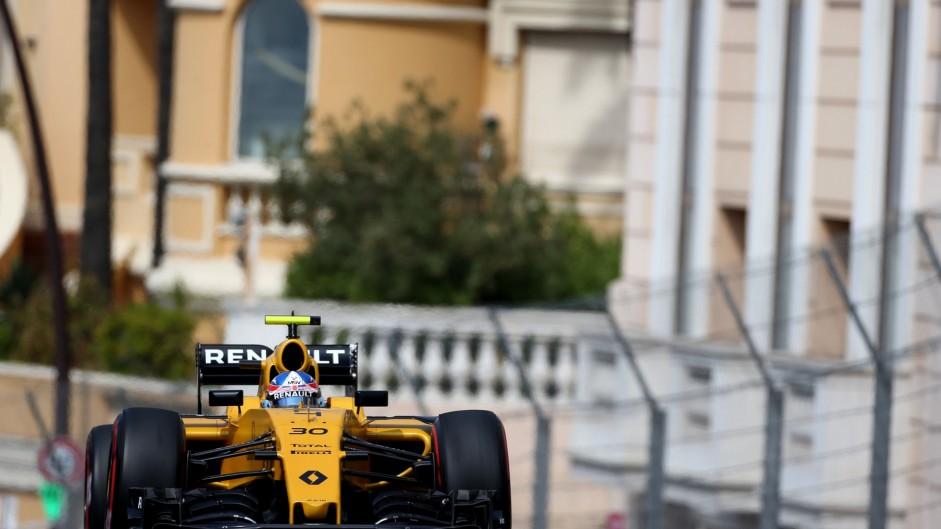 Jolyon Palmer, Renault, Monte-Carlo, 2016