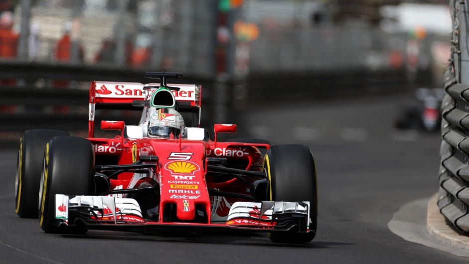 "Vettel ""not worried"" about qualifying after scruffy day"