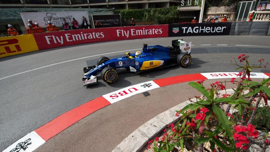Marcus Ericsson, Sauber, Monte-Carlo, 2016
