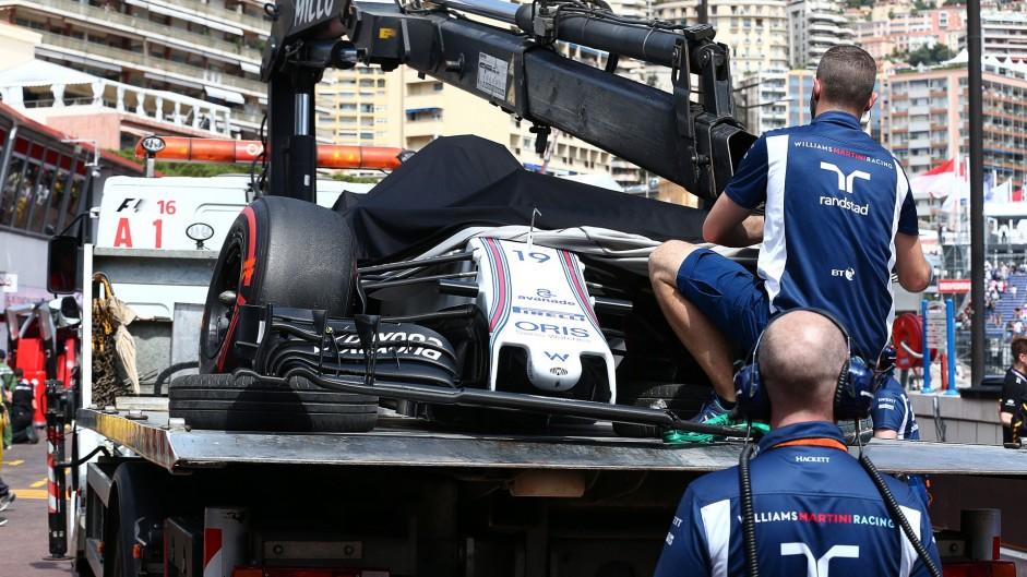 Williams FW38, Monte-Carlo, 2016
