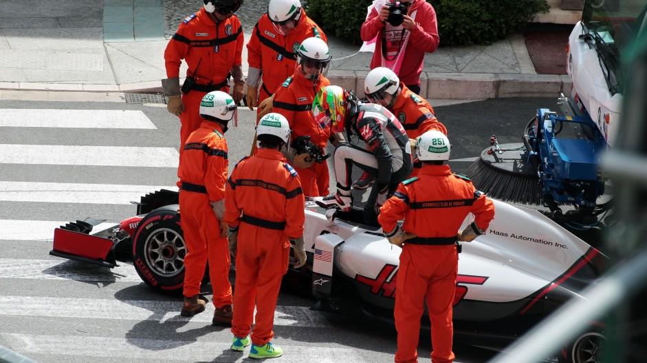 Esteban Gutierrez, Haas, Monte-Carlo, 2016