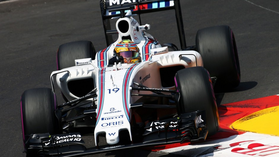 Felipe Massa, Williams, Monte-Carlo, 2016