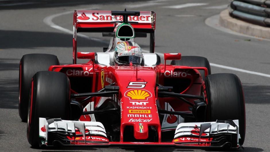 Vettel tops close final Monaco practice