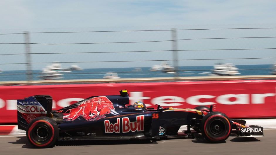 Carlos Sainz Jnr, Toro Rosso, Monte-Carlo, 2016
