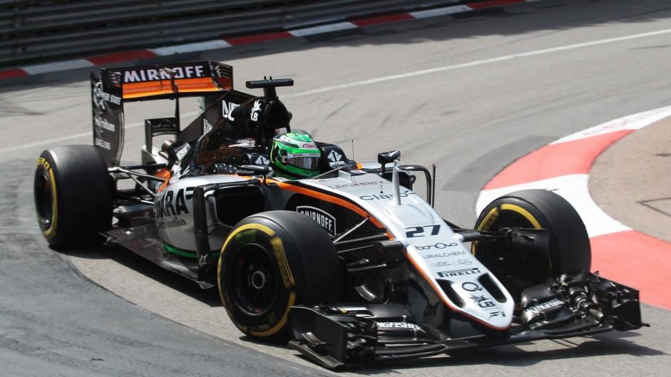 Nico Hulkenberg, Force India, Monte-Carlo, 2016