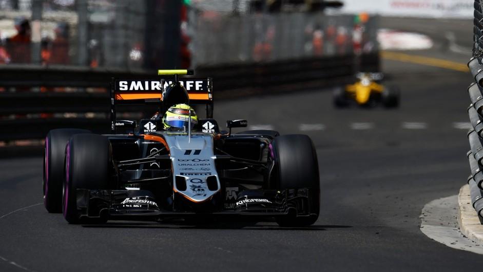 Perez 'extremely happy' with podium finish