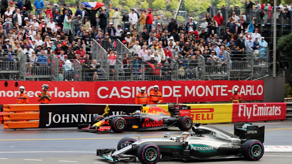 2016 Monaco Grand Prix tyre strategies and pit stops
