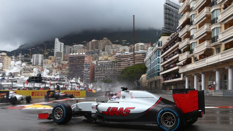 Romain Grosjean, Haas, Monte-Carlo, 2016
