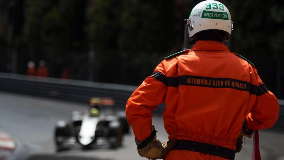 Sergio Perez, Force India, Monte-Carlo, 2016