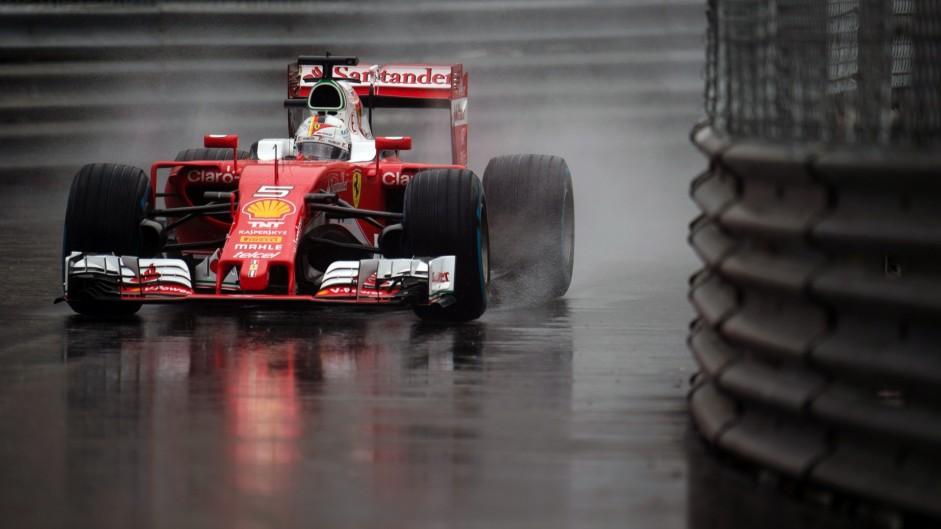 Sebastian Vettel, Ferrari, Monte-Carlo, 2016