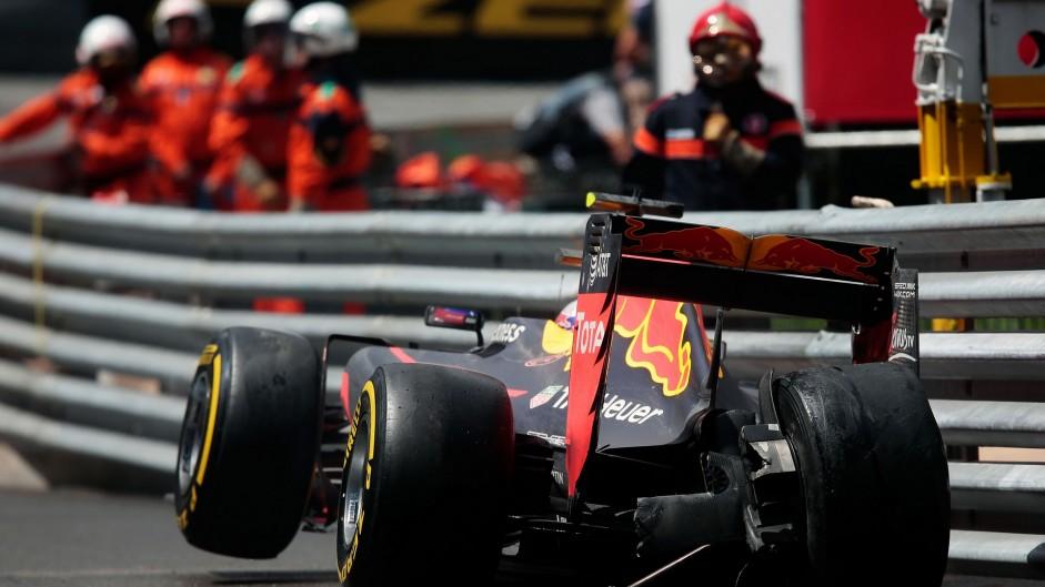 Verstappen makes no excuses after crash