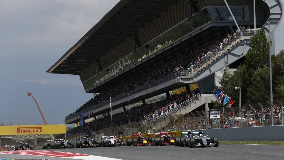 F1 launches new fan zone and TV channel at Spanish GP