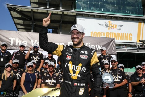 James Hinchcliffe, Schmidt, IndyCar, Indianapolis 500, 2016